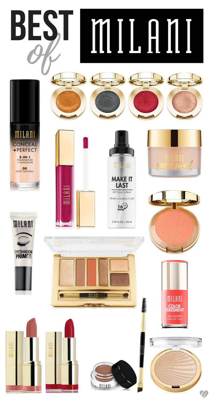 Milani Cosmetics is an amazing drugstore brand that rivals some of the best high-end ones. I've made a list of the best Milani makeup products worth trying!