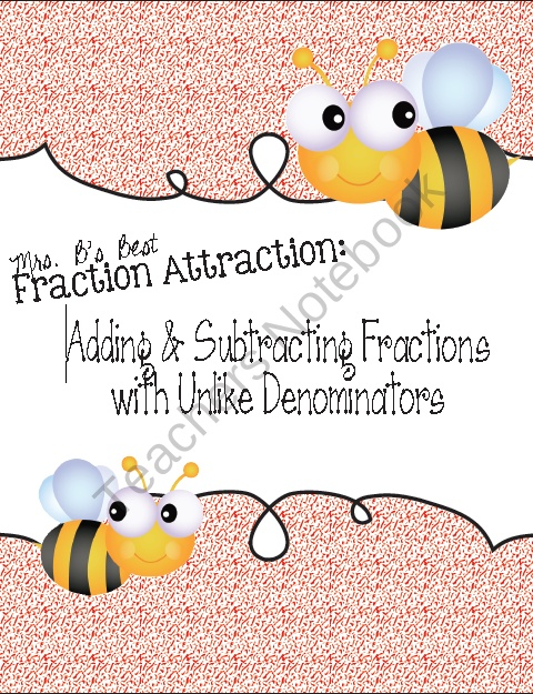 1000+ images about Fractions on Pinterest | Adding Fractions ...
