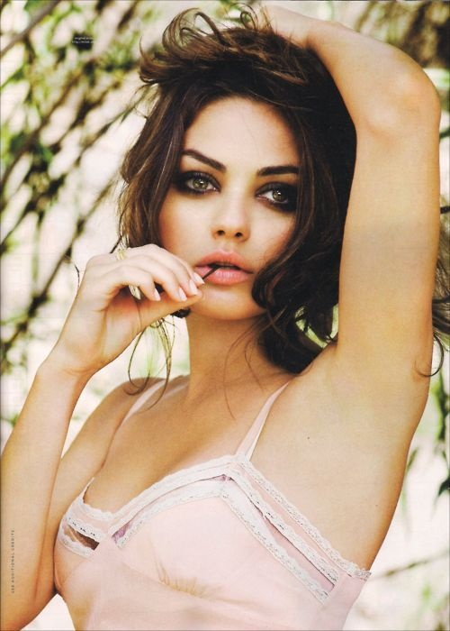I would consider lesbianism for you Mila...