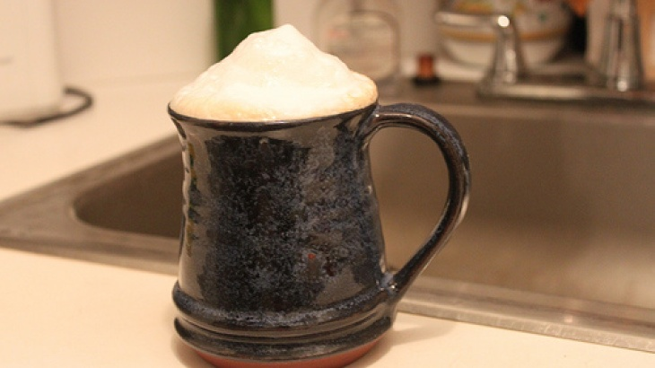 Frosty Bourbon Cappuccino Recipe- but making it with our Mr. Coffee Frappe Machine.