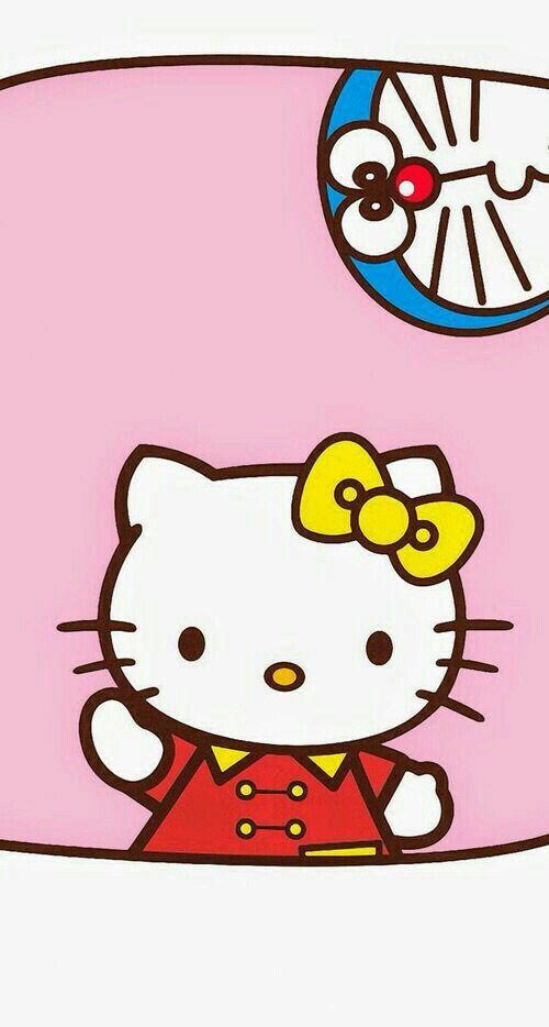 Hello Kitty & Doraemon