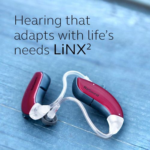 Hearing that adapts with life's needs LiNX2  Visit resound.com/en-AU/hearing-aids/linx2