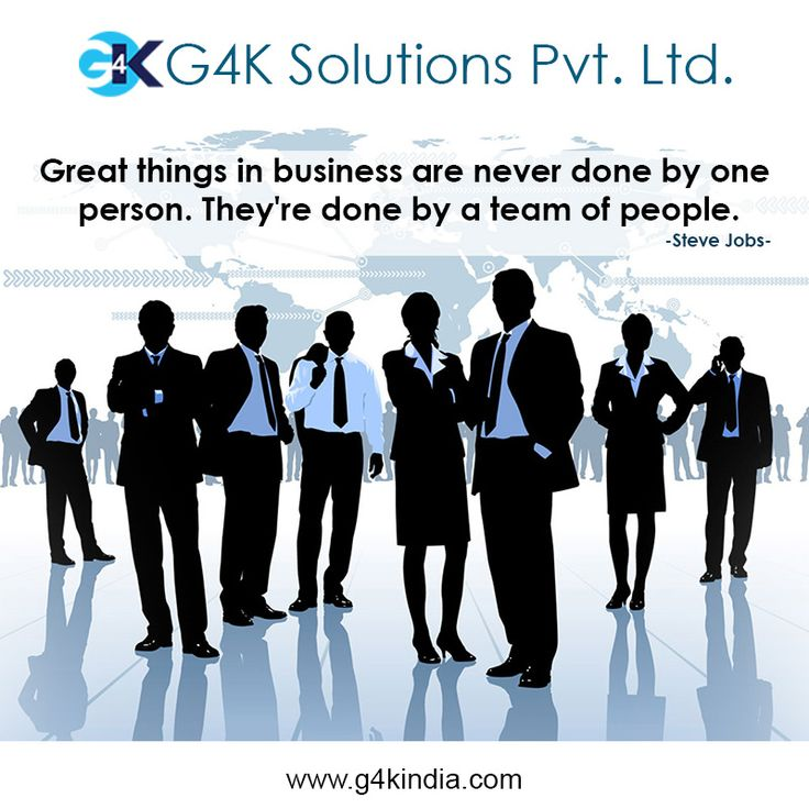 Great things in business are never done by one person. They're done by a team of people.  Platform to grow your business. Our platform, your business.  http://www.g4kindia.com #business #automation #b2b #b2c
