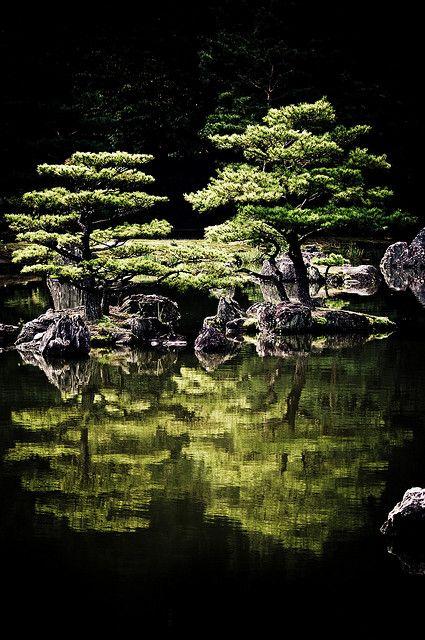 Travel Asian Japan Green garden reflection Connaissez vous Kishori Amonkar