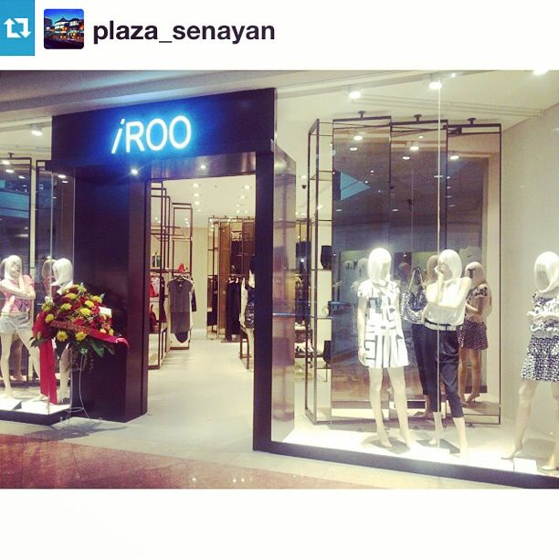 #Repost from @plaza_senayan: NOW OPEN!  See the latest fashion from @iroo_indonesia Visit them at Plaza Senayan Level 2 #irooindonesia #fashion #style #stylish #love #TagsForLikes #me #photooftheday #beautiful #instagood #instafashion #pretty #girly #girl #girls #dress #skirt #shoes #heels #styles #outfit #purse #jewelry #shopping #plazasenayan