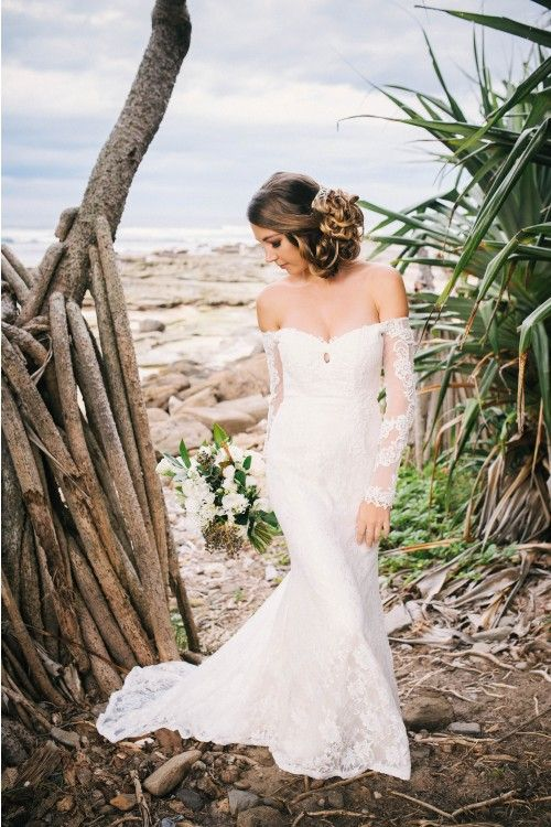 Beachy Wedding Lace Gown When Freddie met Lily
