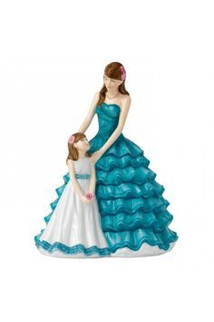 Royal Doulton 2016 Mother's Figure of the Year, Cherished Moment HN5771.  At Waterford Wedgwood Royal Doulton, Tanger Outlets, San Marcos, TX or call 1-800-203-4540 or 512-396-4025