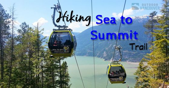The Sea to Summit Trail expands upon the Upper Shannon Falls Trail in Squamish. The trail is steep, long and challenging. Here's what you need to know.