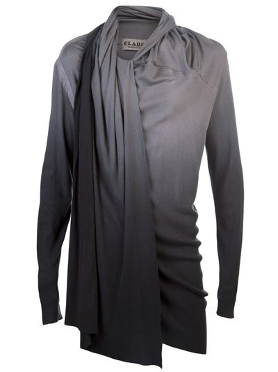 CLADE - Drape ombre tunic MENS - $275