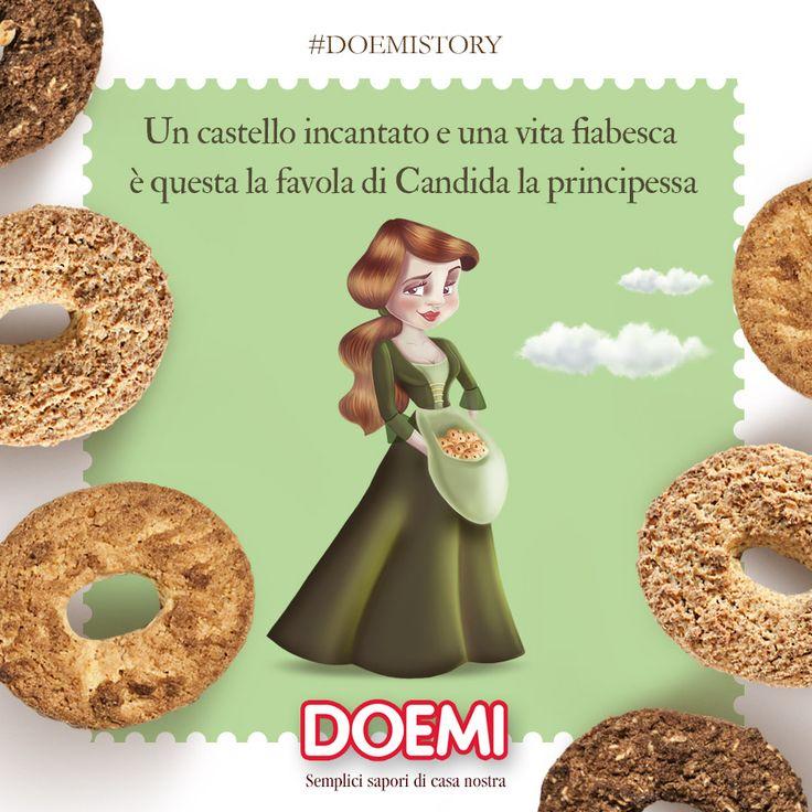 Ecco la principessa Candida, anche lei abita nel magico mondo Doemiland <3 Scopri tutti i personaggi delle Doemistory e vivi la magia del gusto #Doemi. Se cerchi la magia la trovi qui.  #doemistory #doemiland