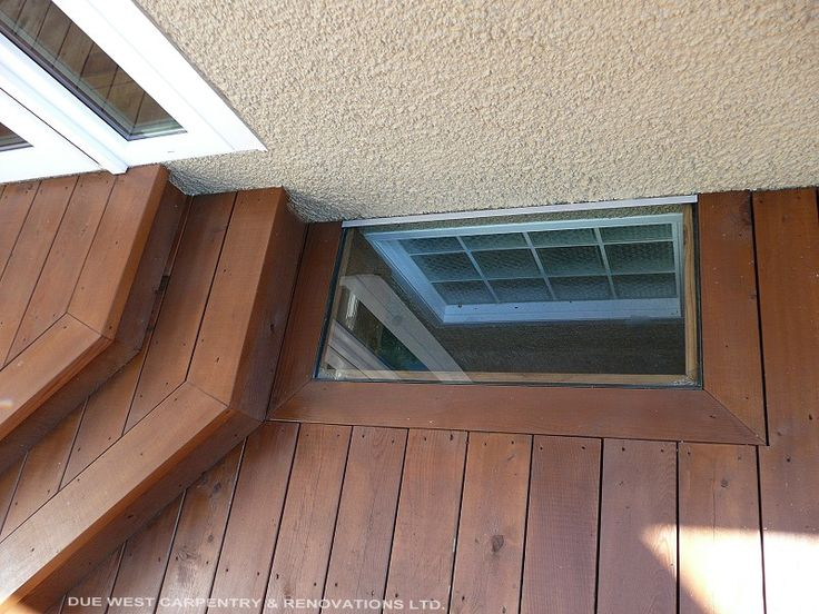 How To Build A Deck Around A Basement Window Google