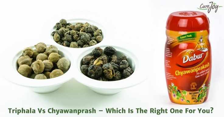 Triphala Vs Chyawanprash – Which Is The Right One For You?