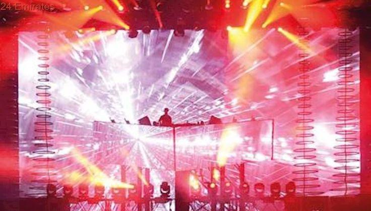 Calvin Harris thrills crowds at Abu Dhabi Grand Prix concert