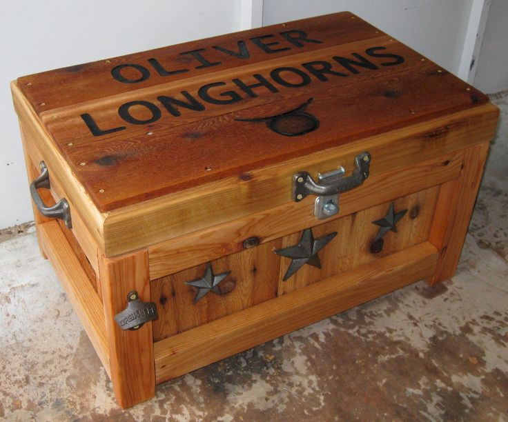 Wooden Ice Chest ~ The best wooden ice chest ideas on pinterest