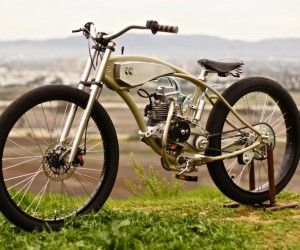 Motorised Bicycle by Wolf Creative Customs