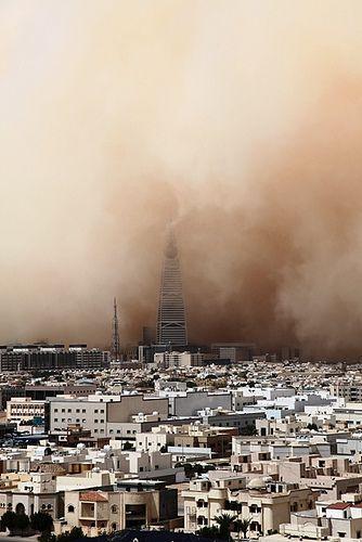 Sand Storm, Riyadh.