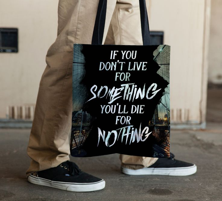 Live for Something Tote Bag (double-sided) from Steadfast Brand