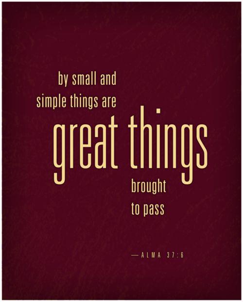 Book of Mormon - Alma 37:6    #LDSQuotes #MormonLink.com
