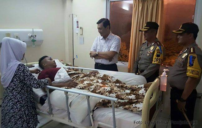 Menkopolhukam Apresiasi Aksi Heroik Bripka Bambang Adi Cahyanto yang Cegah Pelaku Bom Bunuh Diri Menerobos Mapolresta Surakarta