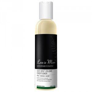 Après-shampooing volume Aloe et Menthe   Less is more (25E)