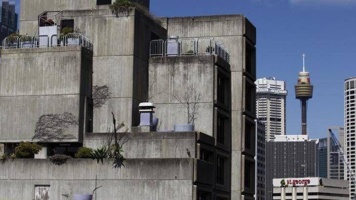 Sirius public-housing building in The Rocks