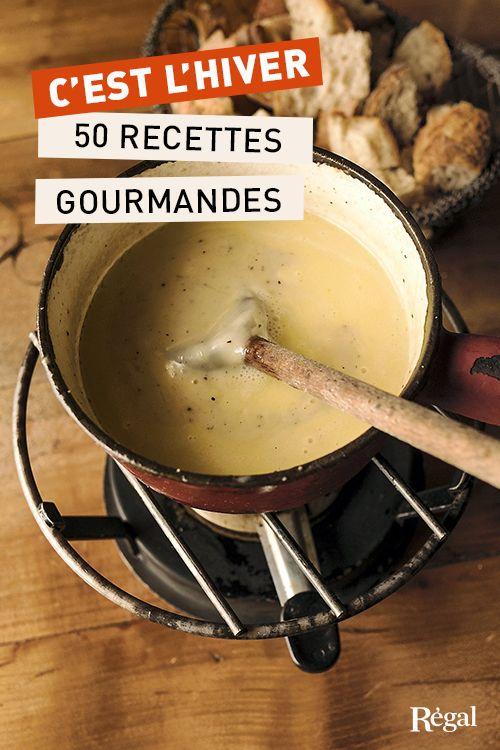 50 recettes pour vous régaler (et vous réchauffer) cet hiver !