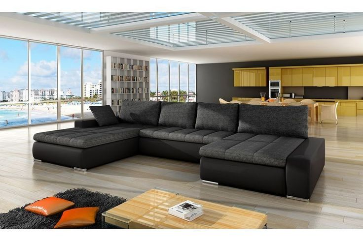 les 25 meilleures id es de la cat gorie canap en u sur pinterest chaise longue ikea sofa. Black Bedroom Furniture Sets. Home Design Ideas