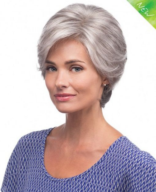 Sonia #wig by Estetica Price: 349.96 (CAD) $ Medium Length Layered Cut with Body, Curls & Side Swept Bangs. #Healthcare #haircare #hairloss #Extensions #hair #HairExtensions #Humanhair  Buy Now: http://www.hairandbeautycanada.ca/sonia-wig-estetica-wigs-canada/