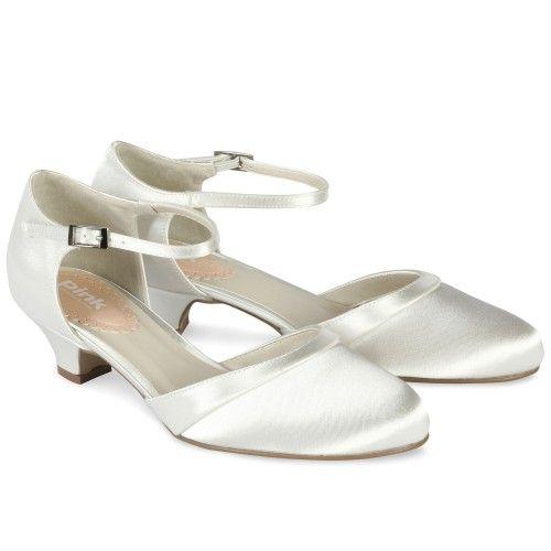 Chaussures mariage petits talon à bride Paisley | Chaussure