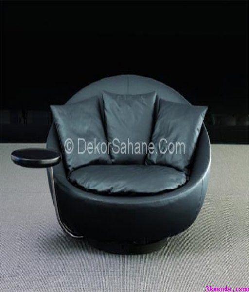 awesome Harika siyah deri kanepe stilleri