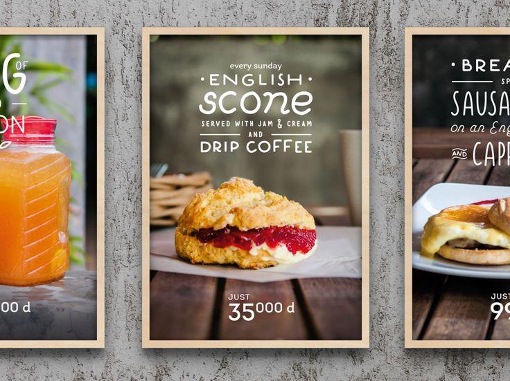 Posters for Dingo Deli restaurant on Behance