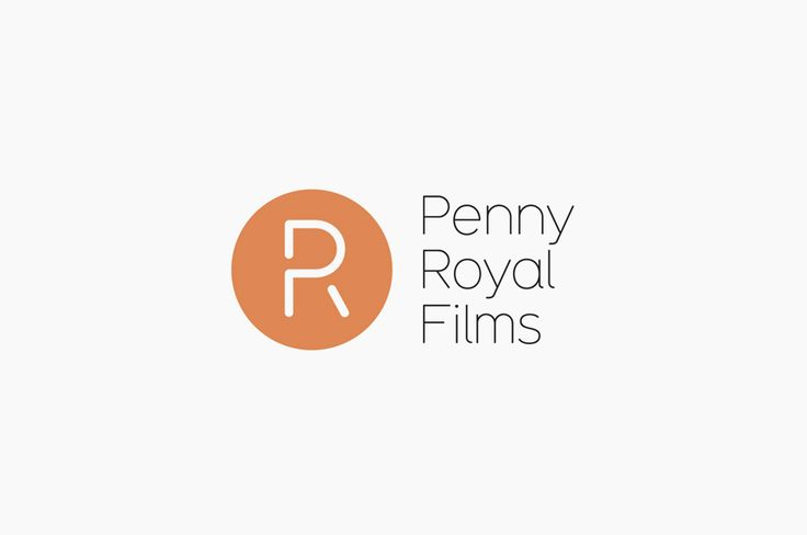 Monogram and logotype designed by Alphabetical for Penny Royal Films