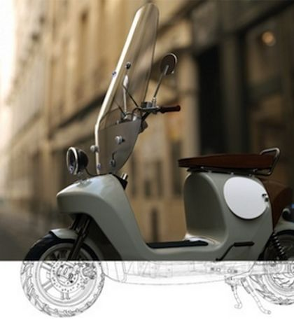 A Dutch company plans to launch the world's first hemp scooter in Amsterdam next year.
