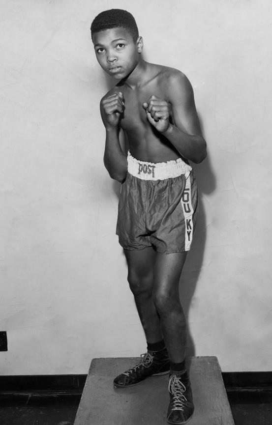 Young Muhammad Ali - Born 1/17/1942 Aka Cassius Marcellus Clay, Jr.