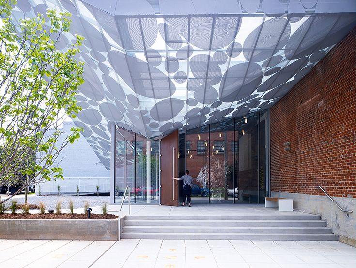 brooks + scarpa contemporary art museum raleigh Canopy