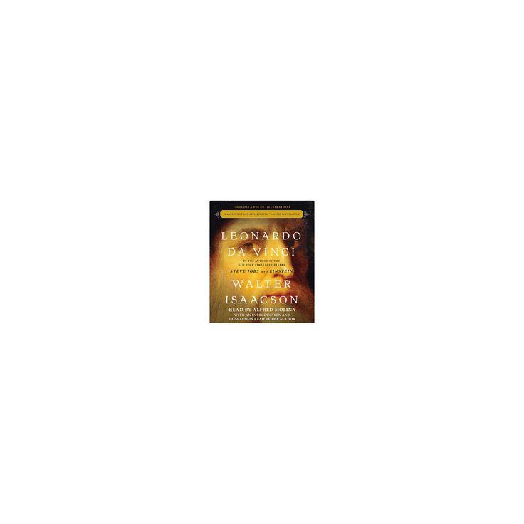 Leonardo Da Vinci : Includes a Pdf of Illustratons (Unabridged) (CD/Spoken Word) (Walter Isaacson)