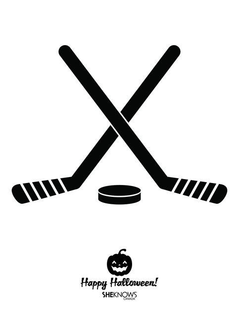 12 best hockey jack o lanterns images on pinterest hockey ice