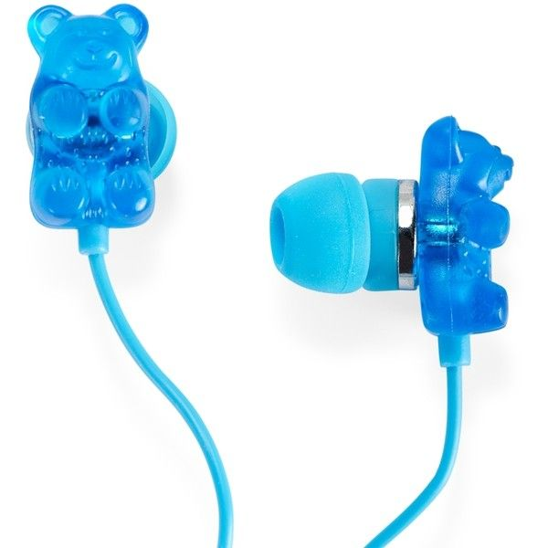 PS From Aeropostale Kids' Gummy Bears Ear Buds (€6,43) ❤ liked on Polyvore featuring accessories, headphones, electronics, earphones, earrings and filler