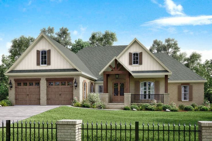 Country Style House Plan - 4 Beds 2.5 Baths 2329 Sq/Ft Plan #430-151