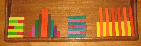 Math Fun with Cuisinaire Rods... a post about using the rods for a more natural learning approach