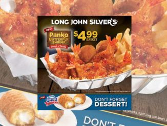 Long John Silver's Launces New Sweet n' Tangy Panko Butterfly Shrimp And Deep Fried Twinkies