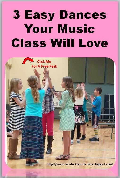 3 easy dances your class will love.#funmusicactivities #musiceducation