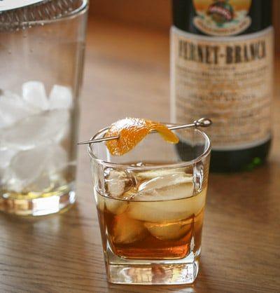 King Cole - Classic cocktail - Fernet-Branca, Bourbon - Consumatorium