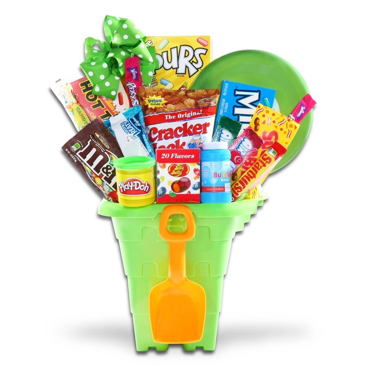 33 best easter gift baskets gifts favors more images on treats toys easter pail such a great idea for a diy easter basket negle Choice Image