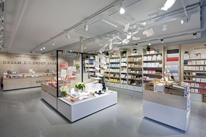 Kikki k pop up store by dalziel pow london uk for Retail interior designers in london