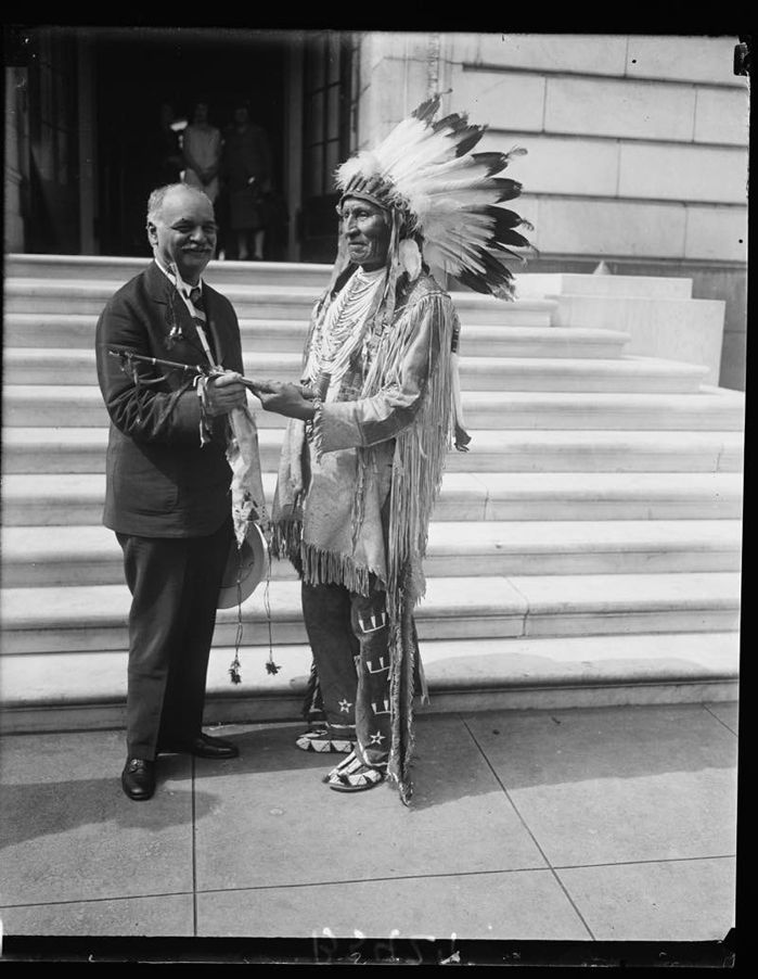 Sitting Bull, VP Charles Curtis