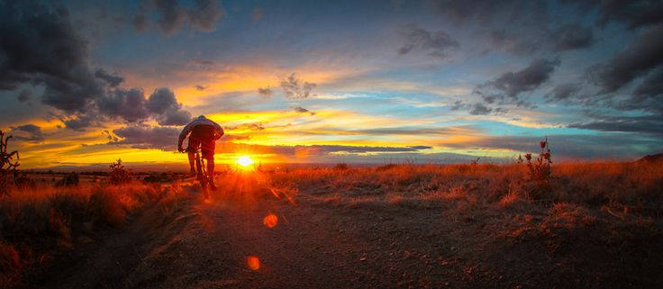 After work... Albuquerque, New Mexico, United States #Mountainbiking
