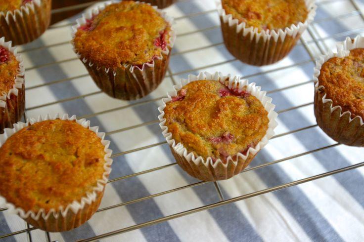 Coconut Orange Raspberry-Swirl Muffins #DailyBites