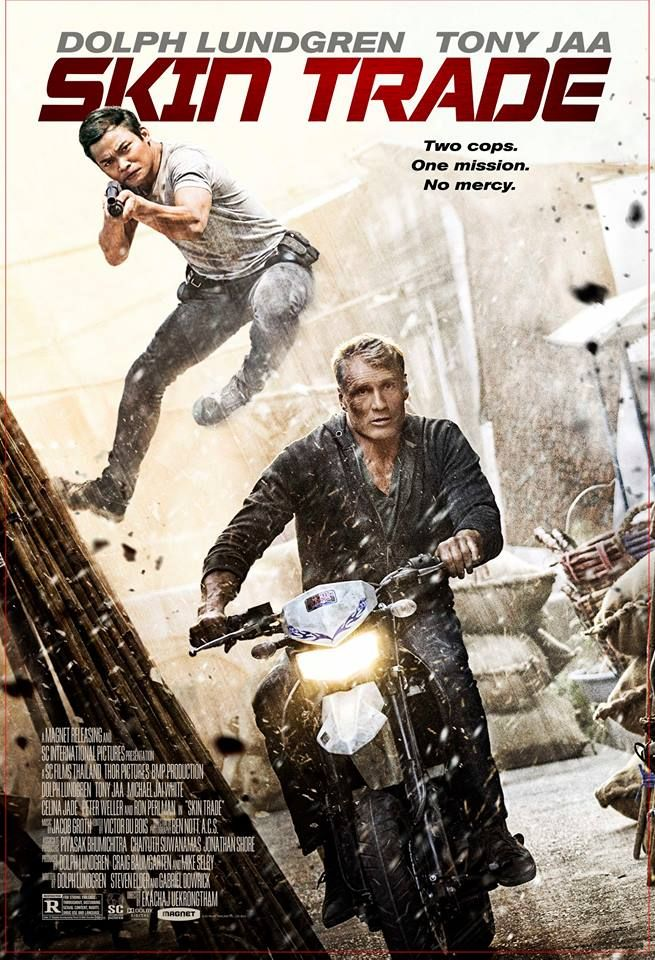 M.A.A.C. – Official Trailer For SKIN TRADE Starring TONY JAA, DOLPH LUNDGREN, & MICHAEL JAI WHITE. UPDATE: NEW Poster