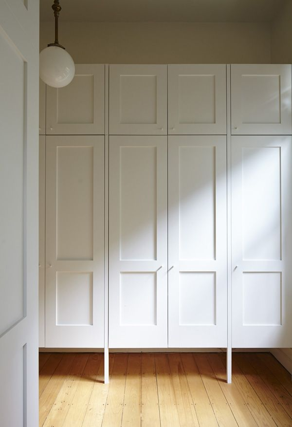 love these wardrobes.... oh the crap I could hide behind them OVP_new farm arbour 02_cupboards